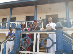 prof. acholonu visits ckc (pix and report)