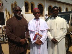 SSG Obaze visits Onyeisi Fr Tagbo at Awkuzu